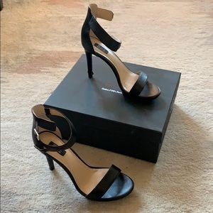 Saks black label strappy stiletto